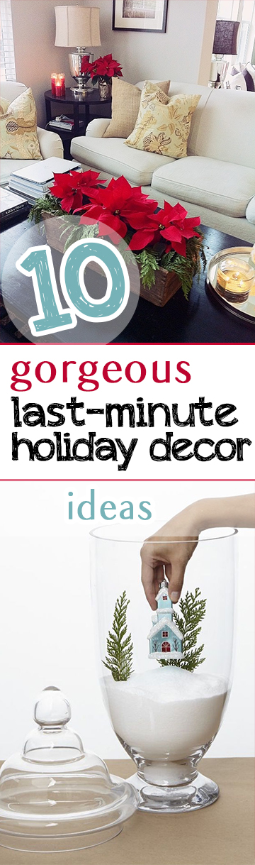 Last Minute Holiday Decor, Last Minute Christmas Decor Ideas, Holiday Decor Ideas, Easy Holiday Decor DIYs, Simple Holiday Decor Hacks, Popular Pin, Easy Christmas Decor, Simple Christmas Decor Ideas