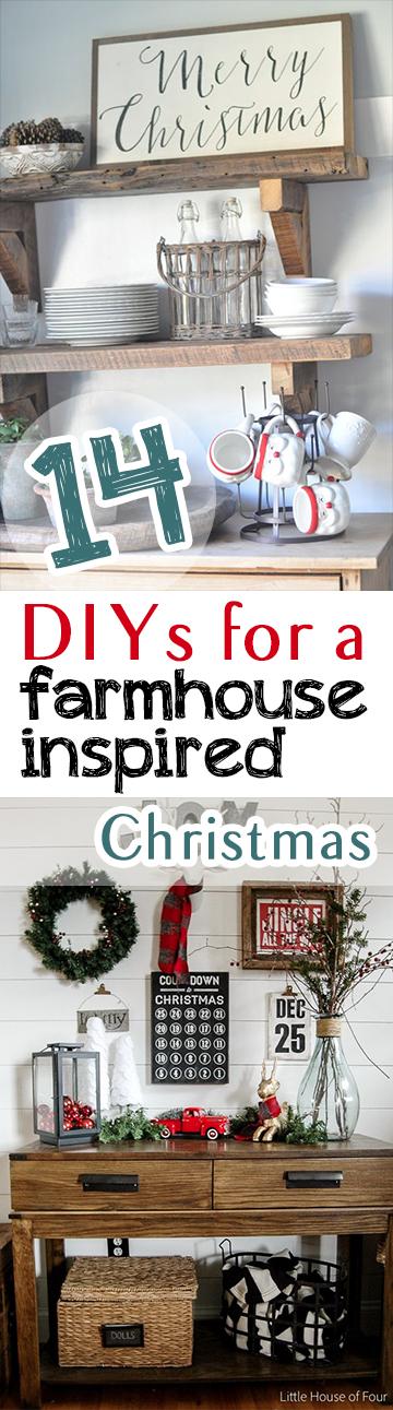 farmhouse christmas farmhouse christmas projects diy farmhouse farmhouse diy projects easy diy - A Farmhouse Christmas