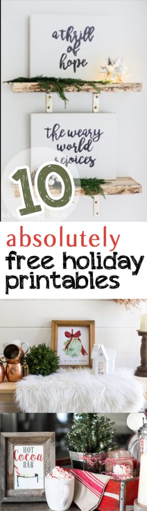 Holiday Printables, Christmas Printables, Free Printables, Free Christmas Printables, Download Christmas Printables, Cute Holiday Printables, Popular Pin, Easy Christmas Printables