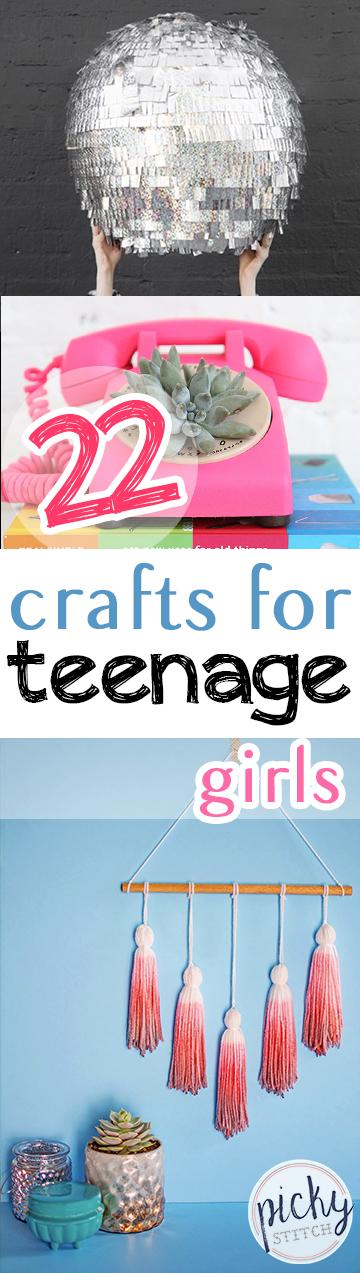 22 Crafts For Teenage Girls Picky Stitch