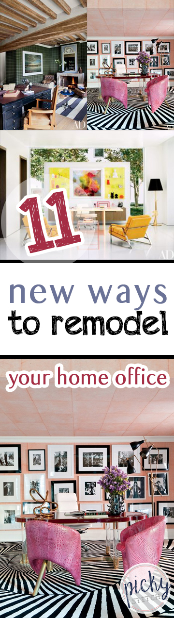 PIN 11 New Ways to Remodel Your Home Office