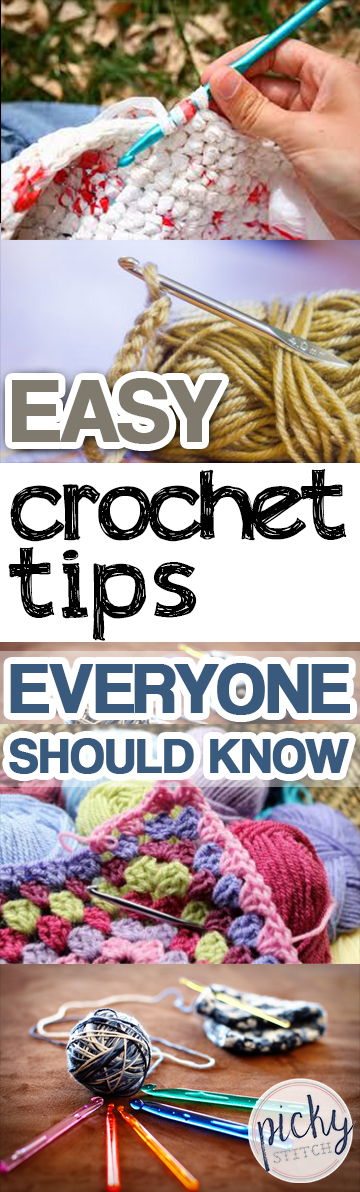 Easy Crochet Tips Everyone Should Know- Crochet Tips, Crochet Tips for Beginners, DIY Home, Crafts, Crafting Tips, Crafting Tips for Beginners, DIY Home Decor, Crochet Tips for New Crocheters. #Crafts #CraftTips #EasyCraftProjects #FunCraftProjects #DIYCrafts #DIYCrafts #DIYHome, #DIYHomeDecor