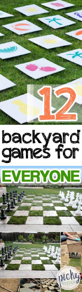 12 Backyard Games for Everyone - Gardening, Gardening Tips and Tricks, Backyard Games, Backyard Games for Kids, Fun Games for Kids, Outdoor DIYs, Outdoor Tips and Tricks, Outdoor Living.