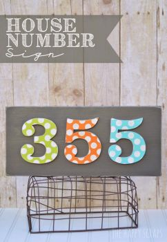 11 Appealing DIY Ways to Display Your Housenumber| How to Display Your House Number, House Number Displays, DIY Ways To DIsplay Your House Number, Displaying Your House Number, Popular Pin