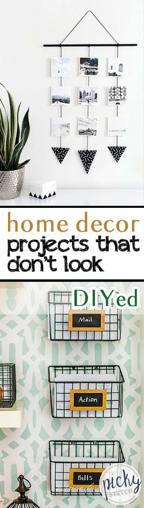Home Decor Projects that Don't Look DIYed| Home Decor Projects, DIY Home Decor, Home Decor Projects, DIY Home Decor, Inexpensive DIY Projects, Inexpensive Projects. #DIYHomeDecor #HomeDecor #EasyDIYProjects