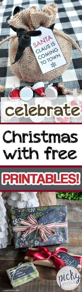 Celebrate Christmas With Free Printables!  Christmas Printables, Free Printables, Printables for Christmas, Christmas Decor, Free Christmas Decor, Christmas, DIY Christmas #FreePrintables #ChristmasPrintables #Christmas