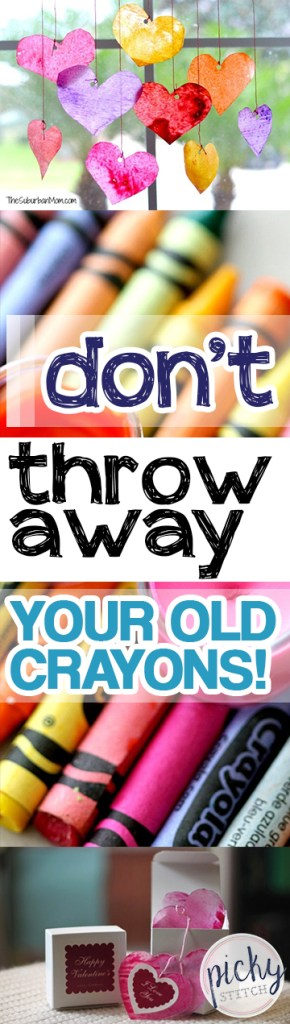 Don't Throw Away Your Old Crayons!| Crayon Crafts, Crafts, Easy Crafts, Crafts for Kids, Repurpose Projects, Home Recycling Projects, DIY Home, DIY Crafts, Crafts for the Home #DIYHome #CraftProjects #RepurposeProjects