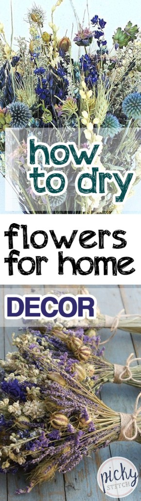 How To Dry Flowers For Home Decor