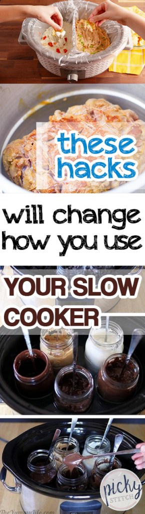 These Hacks Will Change How You Use Your Slow Cooker| Slow Cooker, Slow Cooker Hacks, TIps and Tricks, Cooking, Cooking Hacks, Crock Pot Hacks #SlowCooker #Cooking #CrockPot