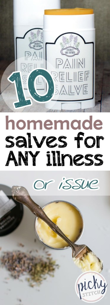 10 Homemade Salves for ANY Illness or Issue| Homemade Salve, Homemade Salve Recipes, Salve Recipes Essential Oils, natural living