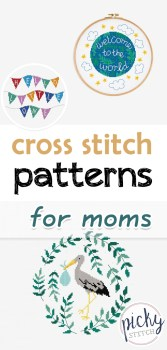 Cross Stitch patterns for Moms, cross stitch patterns, crafts for mom, cross stitch