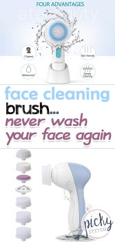 face cleaning brush, DIY face cleaning brush, face cleaning, face brush