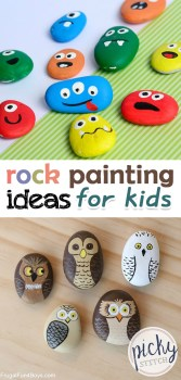 Rock Painting Ideas | Rock Painting Ideas for Kids | DIY Rock Painting Ideas | Paint Rocks | Painting | Art for Kids | Art