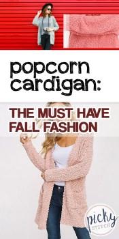 Popcorn Cardigan | DIY Popcorn Cardigan | Must-Have Popcorn Cardigan | Fall Fashion | Fall Fashion Popcorn Cardigan | Cardigan | Cardigans