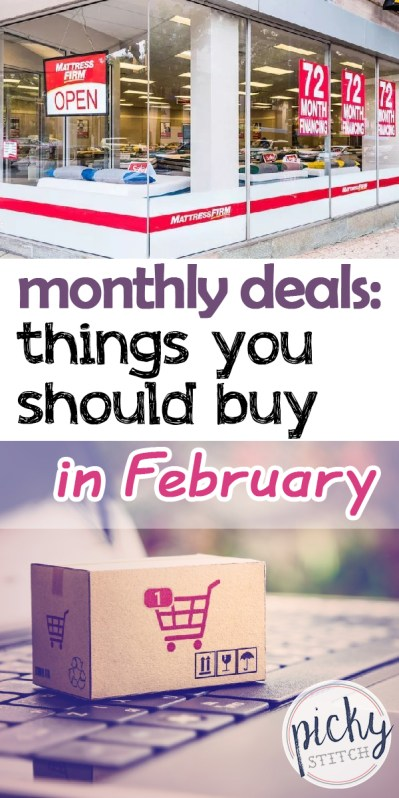 deals | sales | shopping | february sales | february deals | monthly deals | things you should buy in february