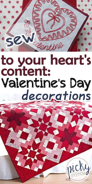 valentine's day | valentine's day crafts | crafts | diy | sewing crafts | sewing valentine's day gifts