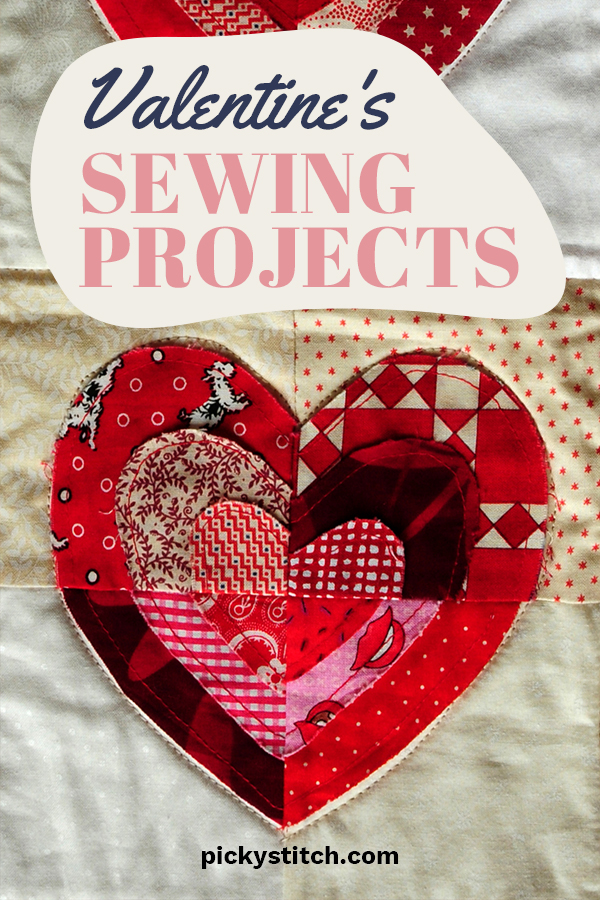 Feeling the need to sew some cute things for Valentine's Day? We thought so. We have some great ideas that are fast and easy and perfect for the holiday. From table runners, to quilts and gift ideas, we have you covered. Take a look by reading on. What project will you pick? Remember to share photos with us. Happy Valentine's Day! #sewingprojectsforvalentines #valentinesdaydecor