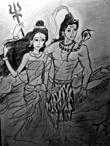 shivaparvatisketch