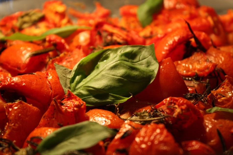 Gemarineerde tomaatjes