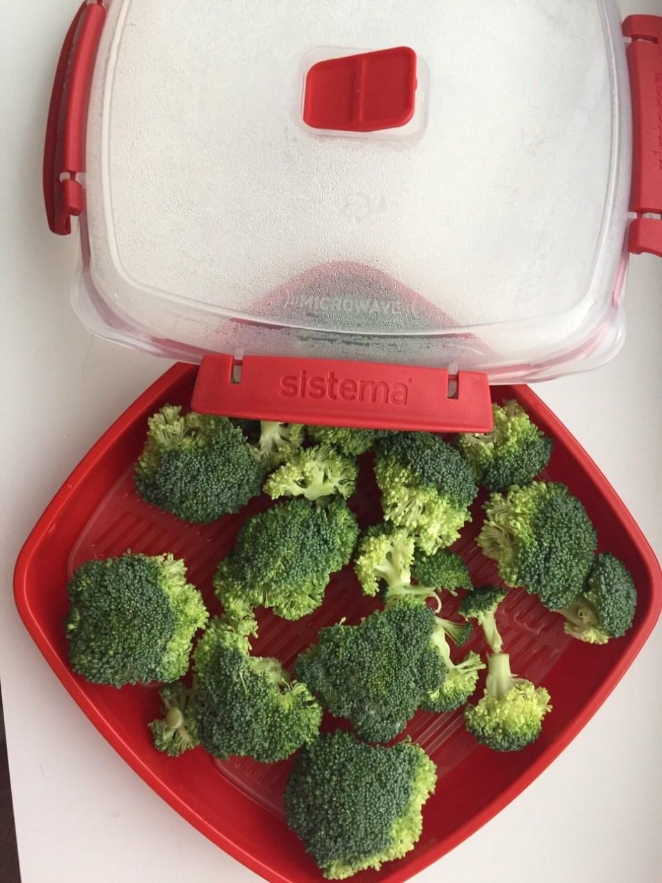 Broccoli uit de magnetron