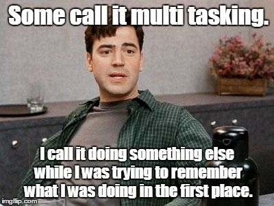 Multitasking meme