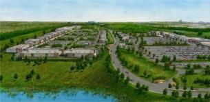 Fairlane Green Redevelopment rendering