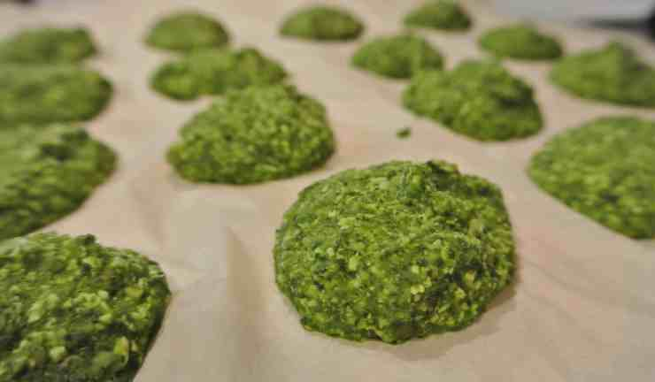 Freezing Pesto Discs