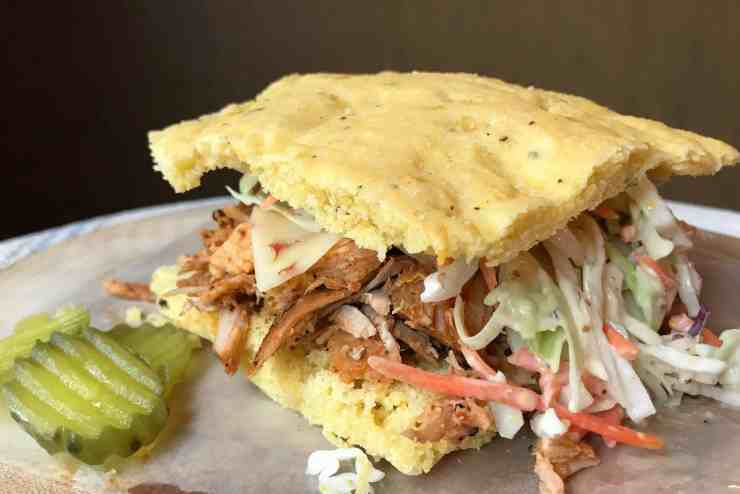 Cajun Pulled Pork Sandwiches