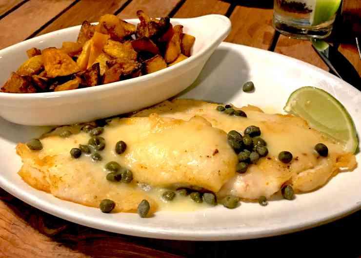 Hogfish Dinner