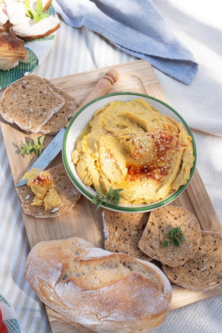 Smokey Pumpkin Hummus Recipe