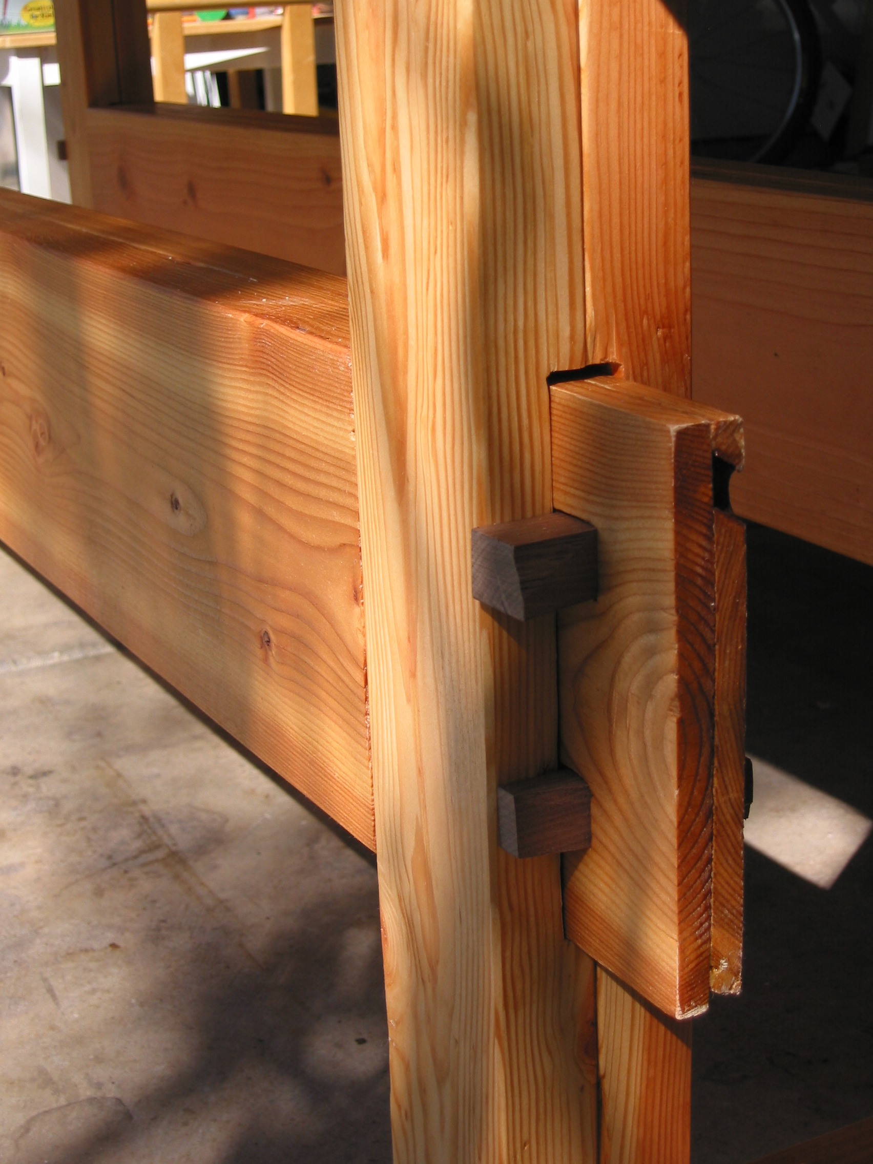 Workbench Plans With Mortise And Tenon Joints PDF Woodworking