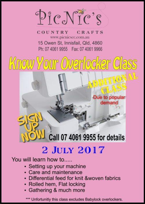 Overlocker class