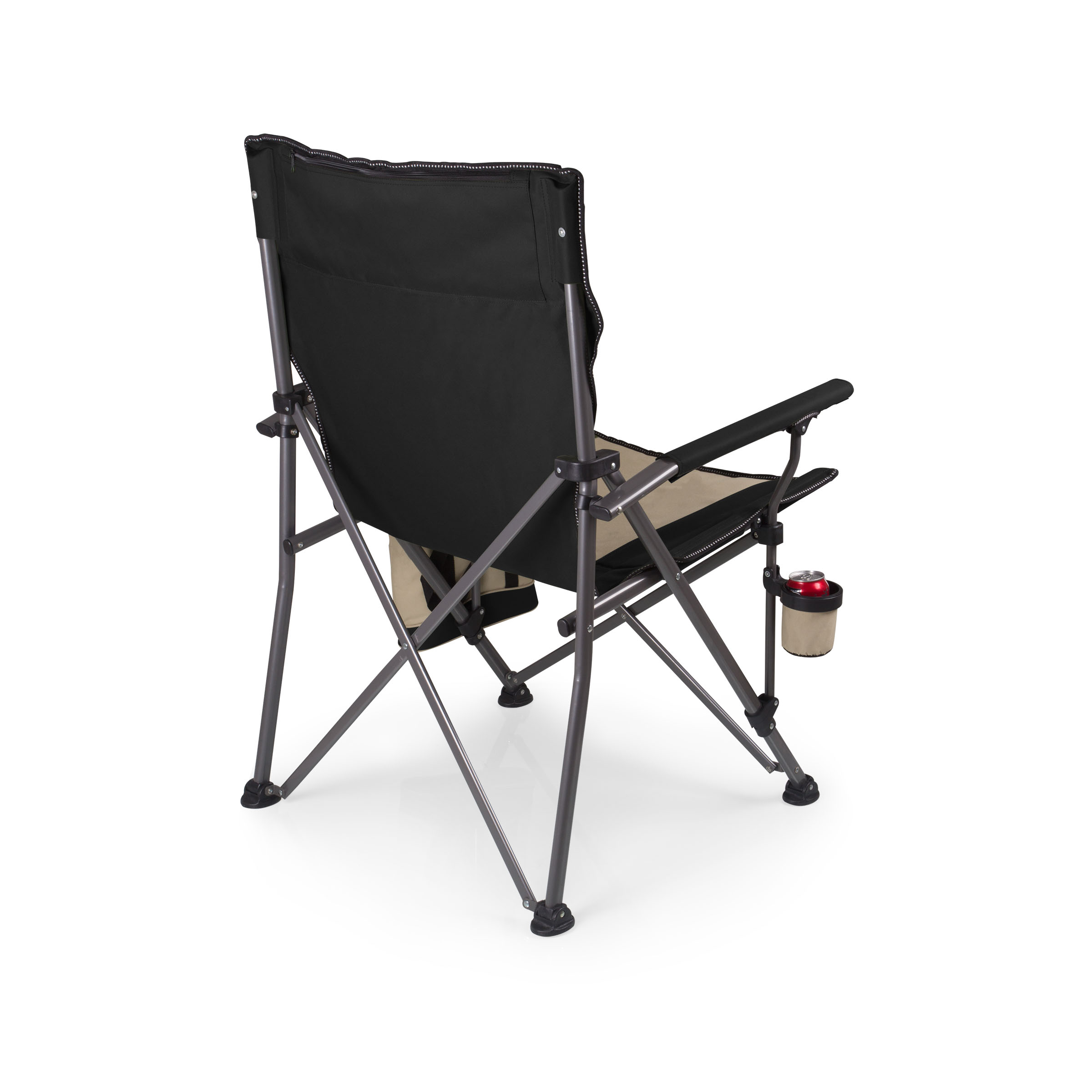 Picnic Time Stadium Chair Big Bear Camp Chair Black Picnic Time Family Of Brands