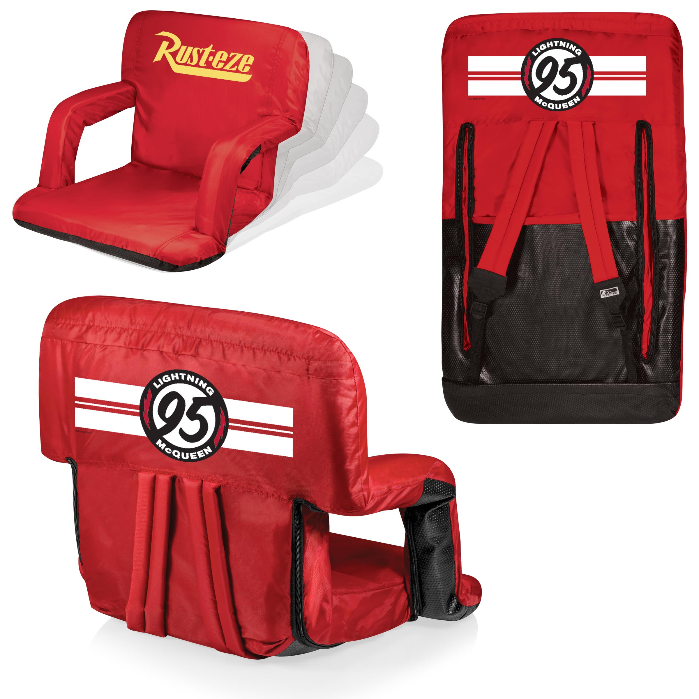 Picnic Time Stadium Chair Lightning Mcqueen 39ventura 39 Portable Reclining Stadium