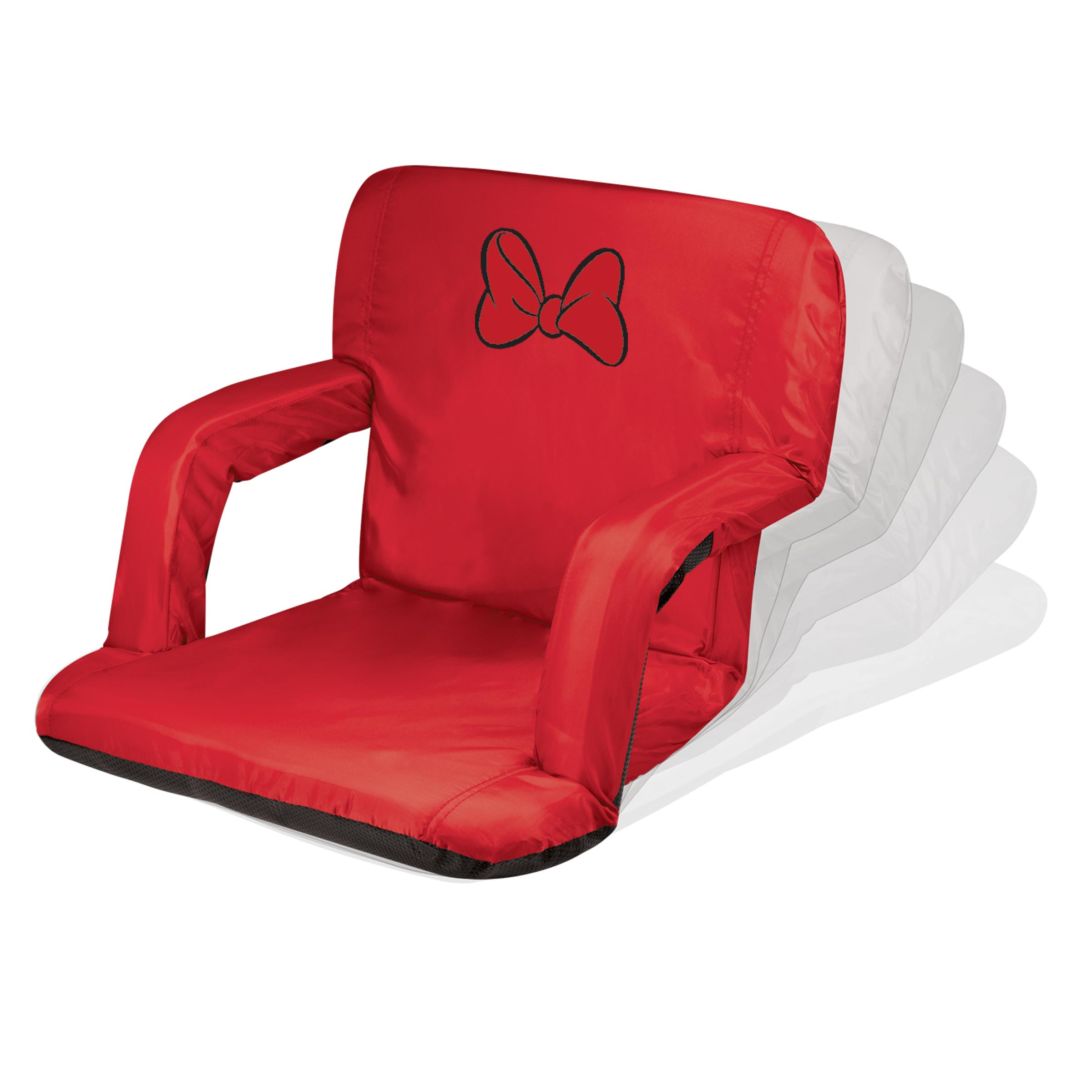 Picnic Time Stadium Chair Minnie Mouse 39ventura 39 Portable Reclining Stadium Seat