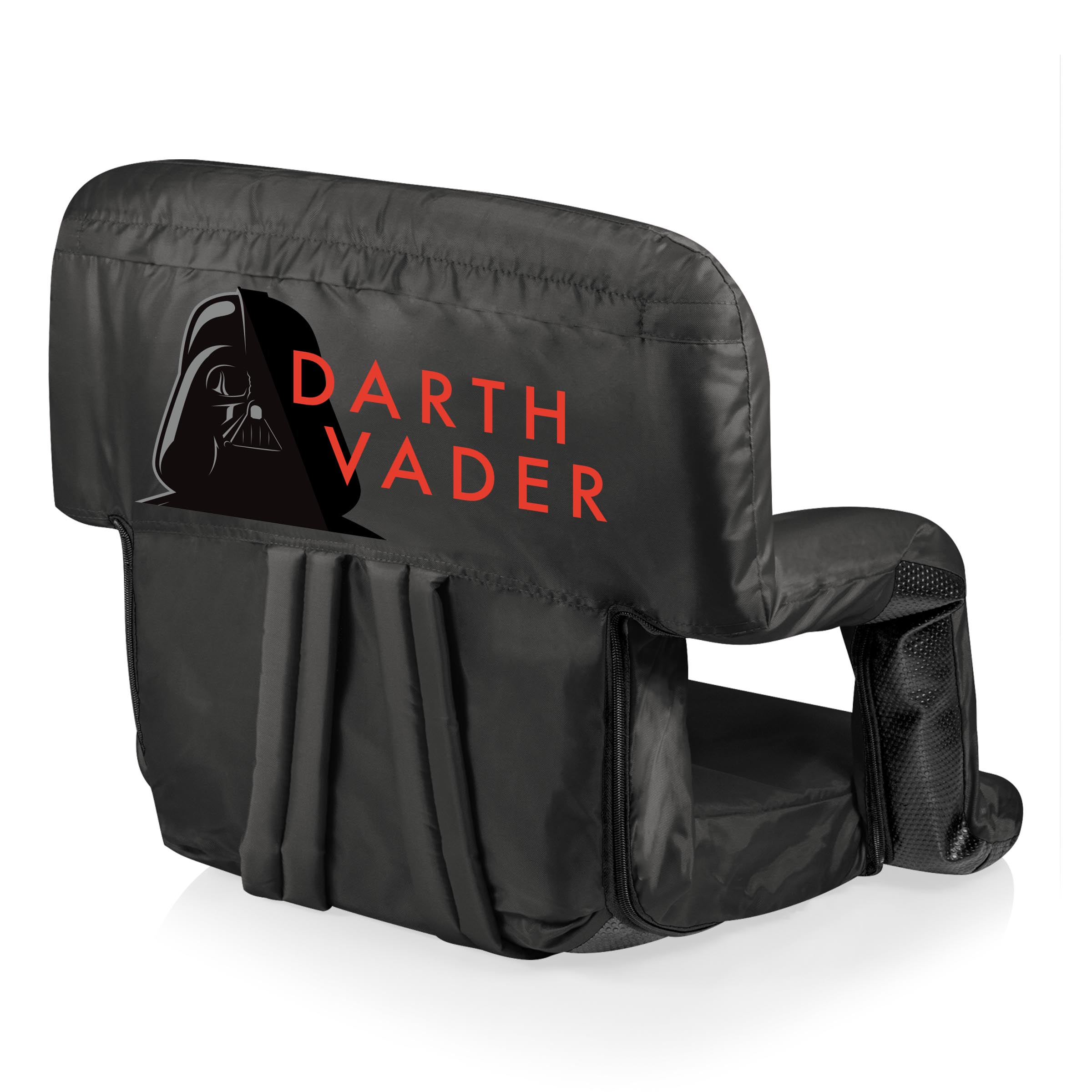 Picnic Time Stadium Chair Darth Vader 39ventura 39 Portable Reclining Stadium Seat By