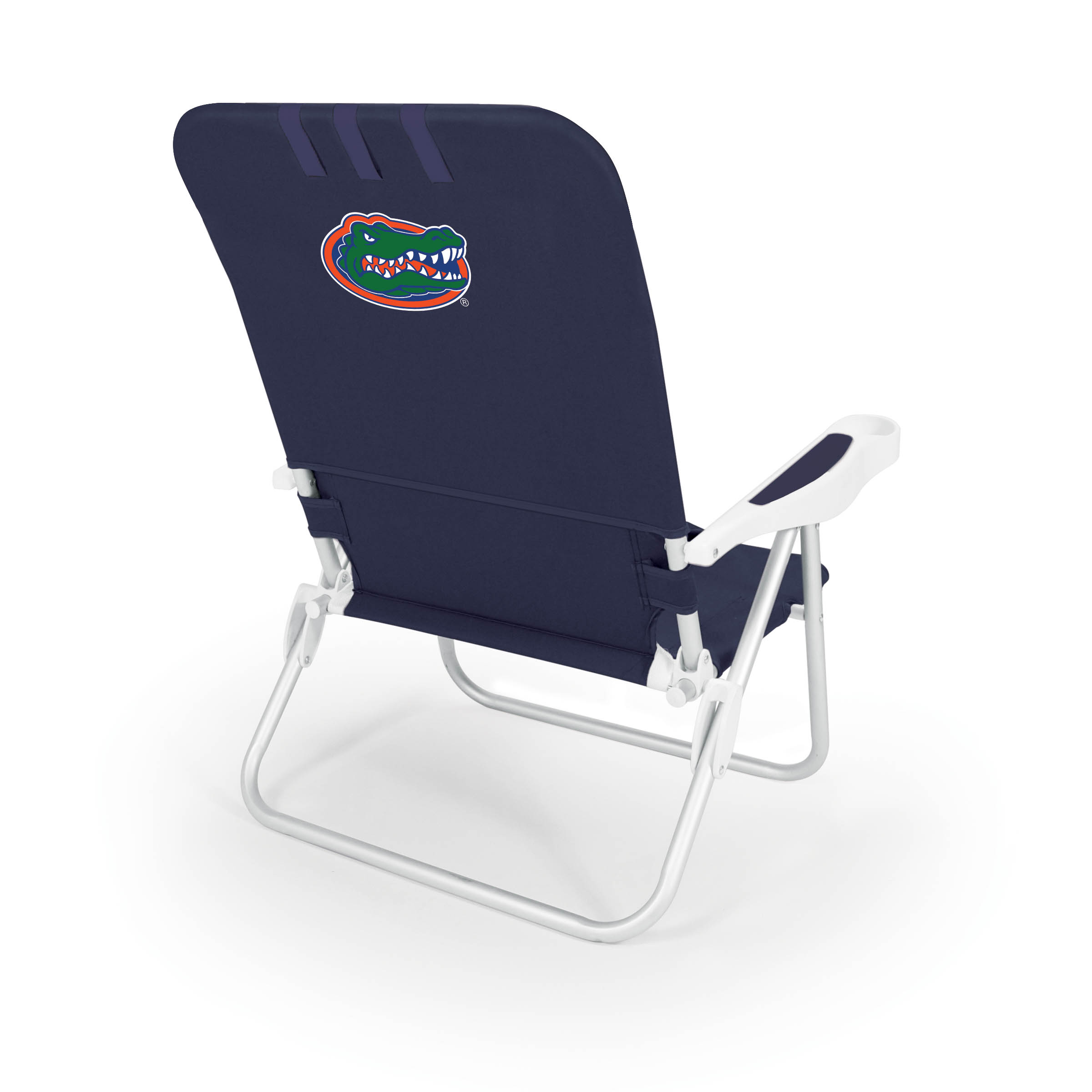 Portable Beach Chair Monaco Beach Chair Blue University Of Florida Gators Digital Print