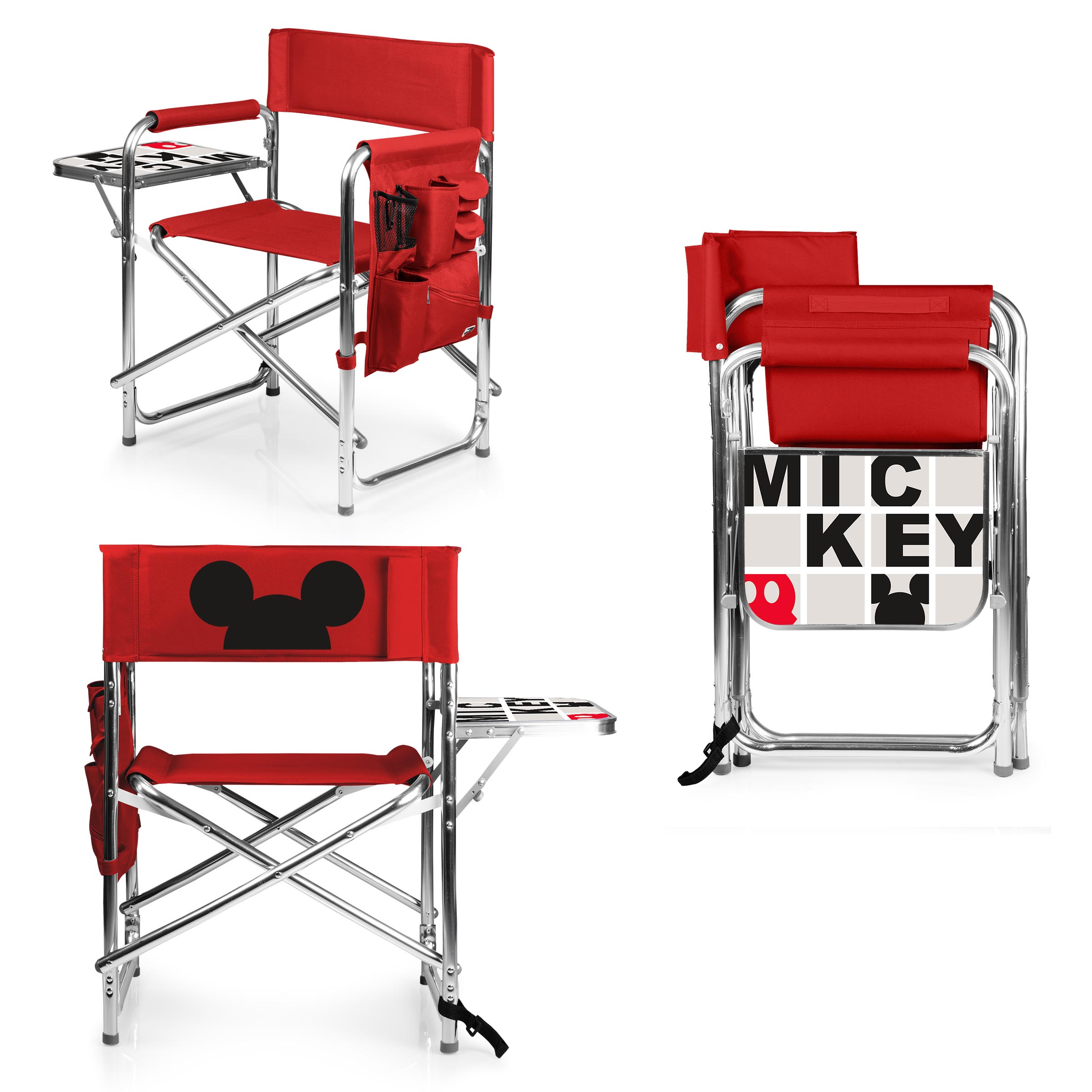 Picnic Chair Mickey Mouse Sports Chair By Picnic Time Red Picnic