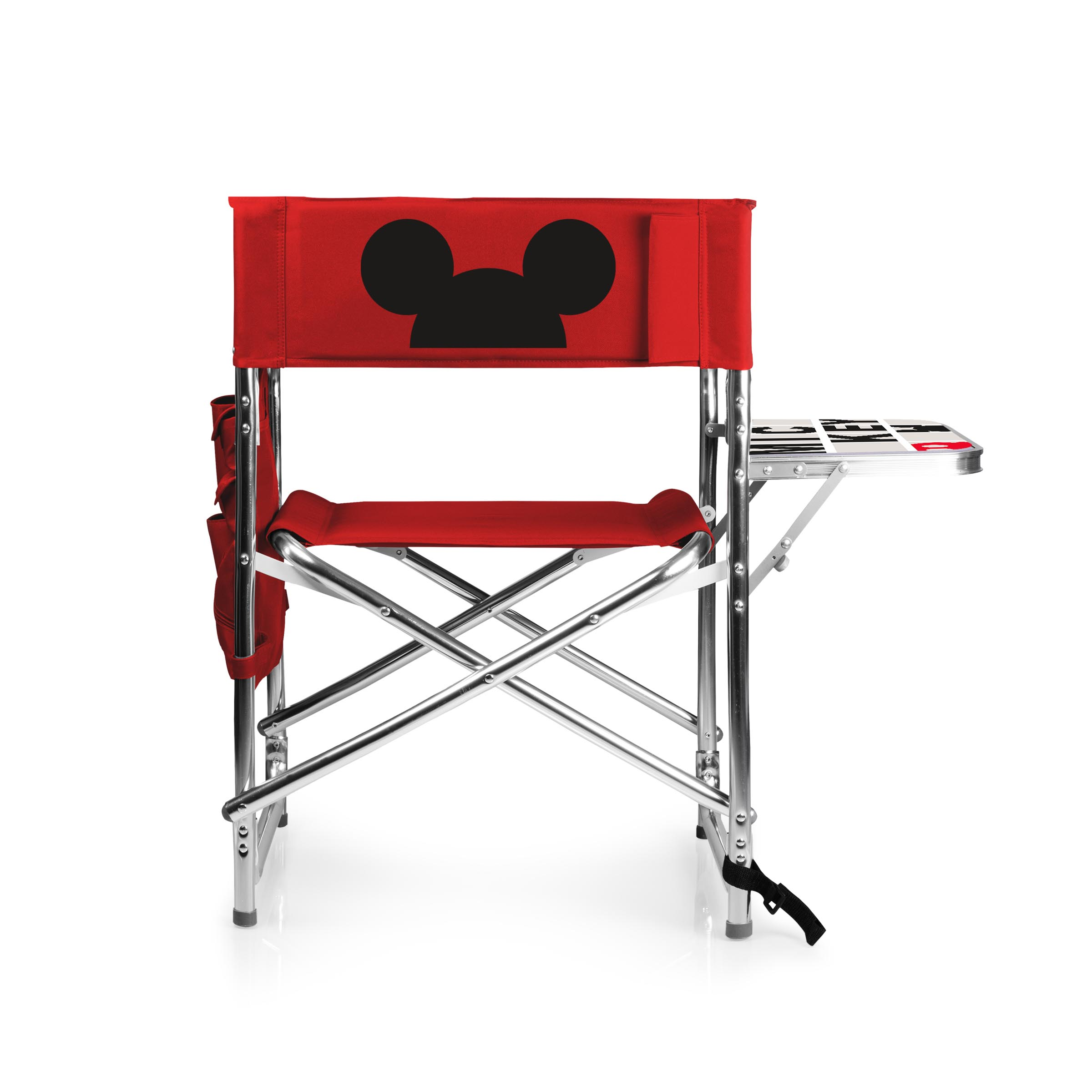 Sturdy Camping Chair Mickey Mouse Sports Chair By Picnic Time Red