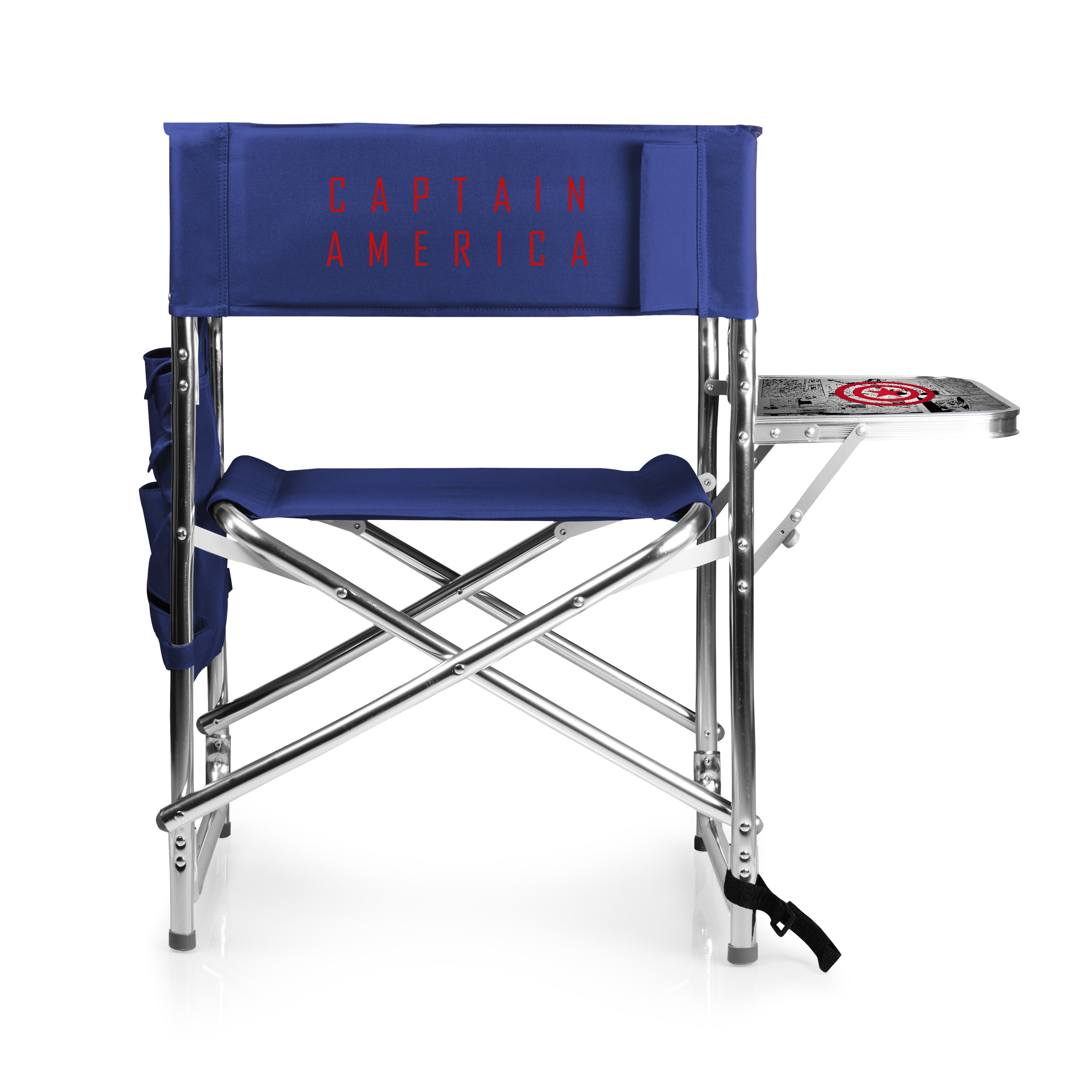 Picnic Time Sports Chair Captain America Sports Chair By Picnic Time Navy