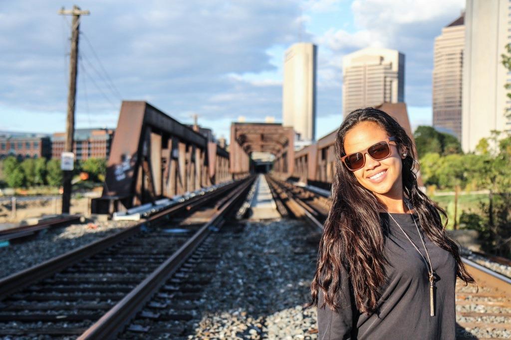 bridge woman