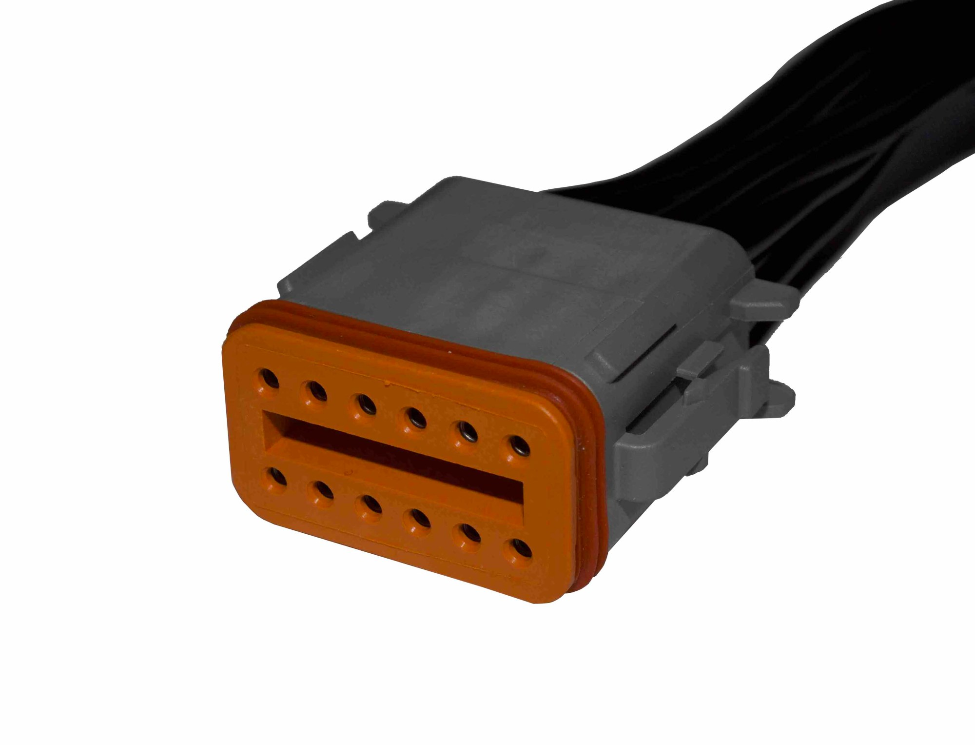 hight resolution of 12 way deutsch pigtail receptacle