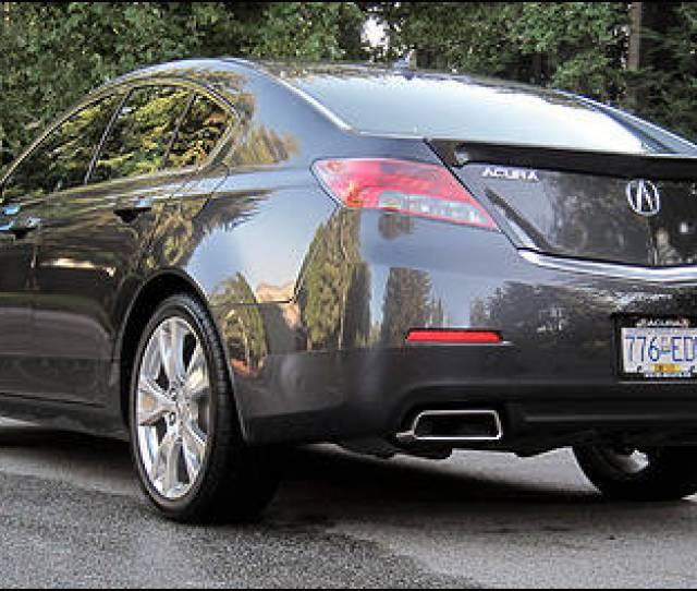 2012 Acura Tl Sh Awd Elite Rear 3 4 View