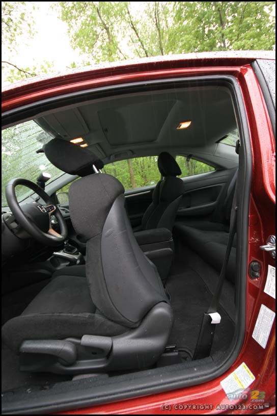 2006 Honda Civic Si Interior : honda, civic, interior, Auto123, Cars,, Shows,, Reviews
