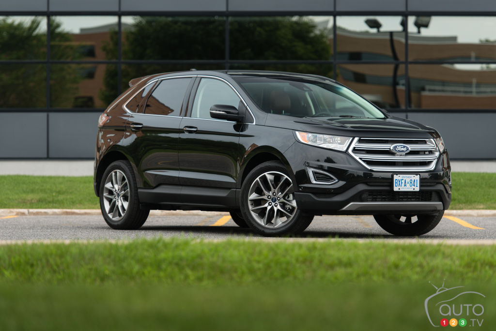 2015 Ford Edge AWD 20L EcoBoost drive  Car Reviews  Auto123