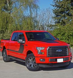 2016 ford f 150 xlt supercrew 4x4 special edition review [ 1024 x 806 Pixel ]