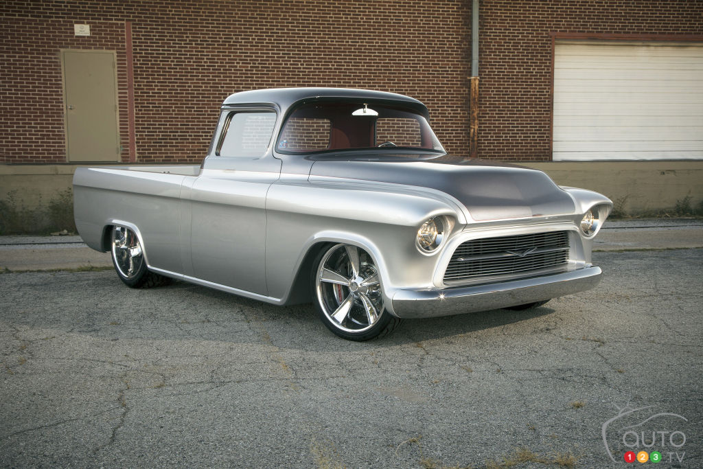 1957 Cars Restored Or Wallpapers 9 Camions Chevrolet Qui Valent Une Fortune Actualit 233 S