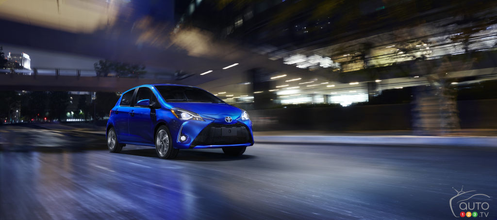 new yaris s 1500cc trd avanza grand veloz bekas 2018 toyota specifications car specs auto123 hatchback improved and still affordable