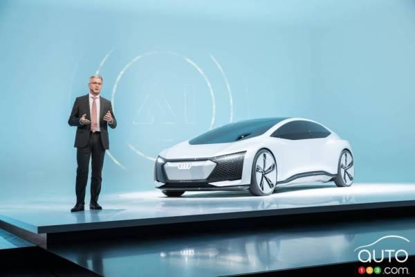 Audi focusing on selfdriving cars and AI at Frankfurt