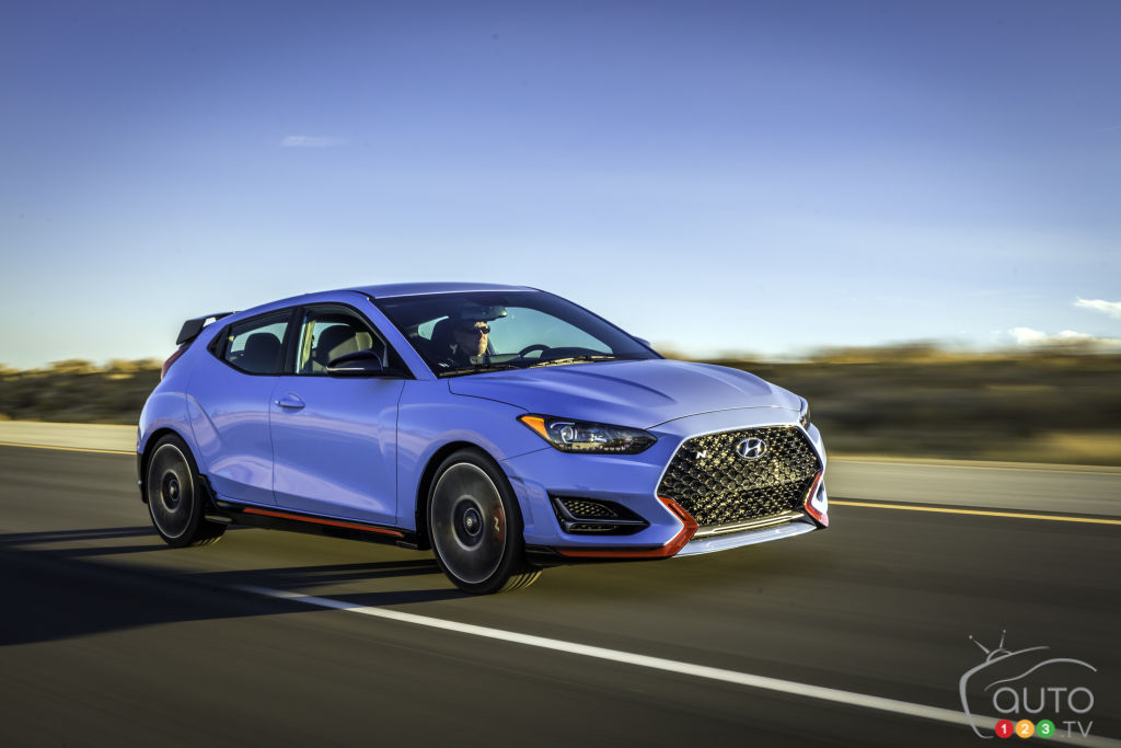 2019 Hyundai Veloster Returns With A Bang In Detroit  Car